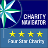 Charity Navigator - 4 star charity