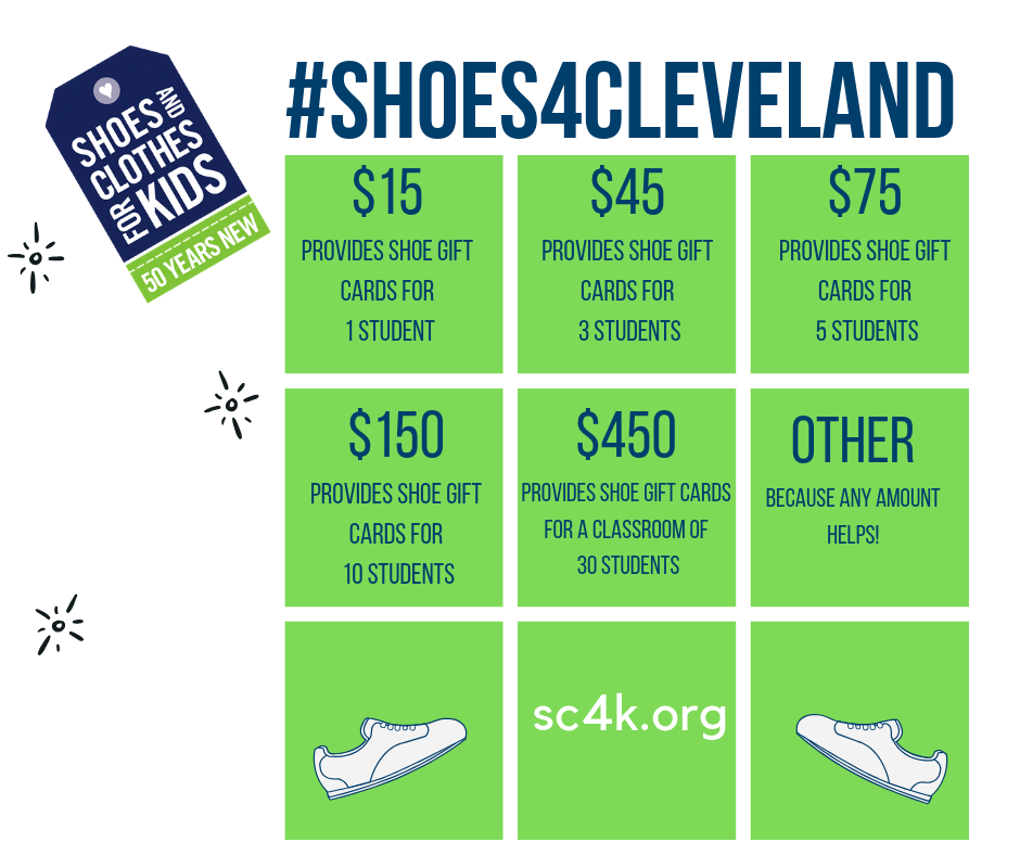 #Shoes4Cleveland