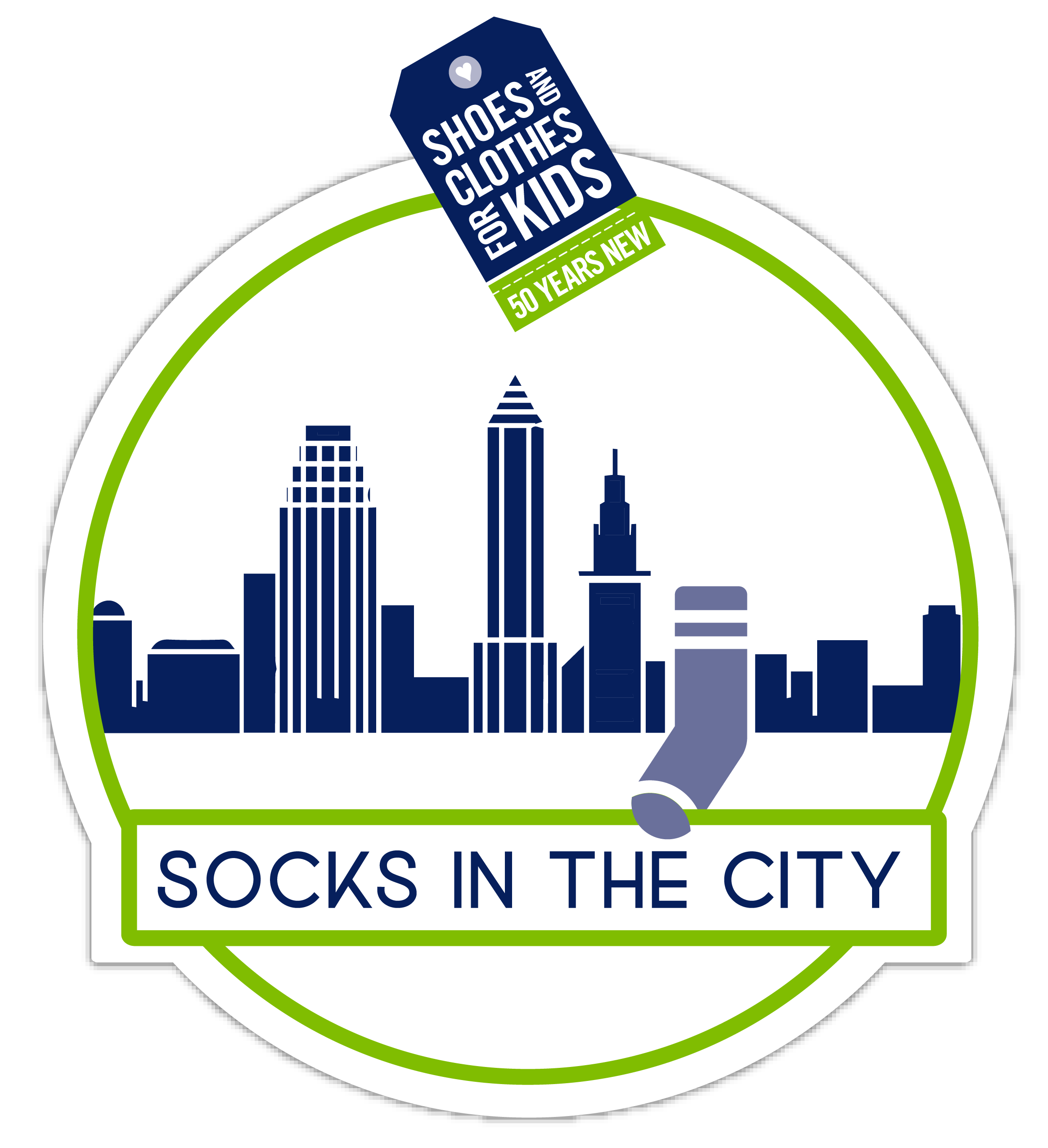 Socks in the City logo